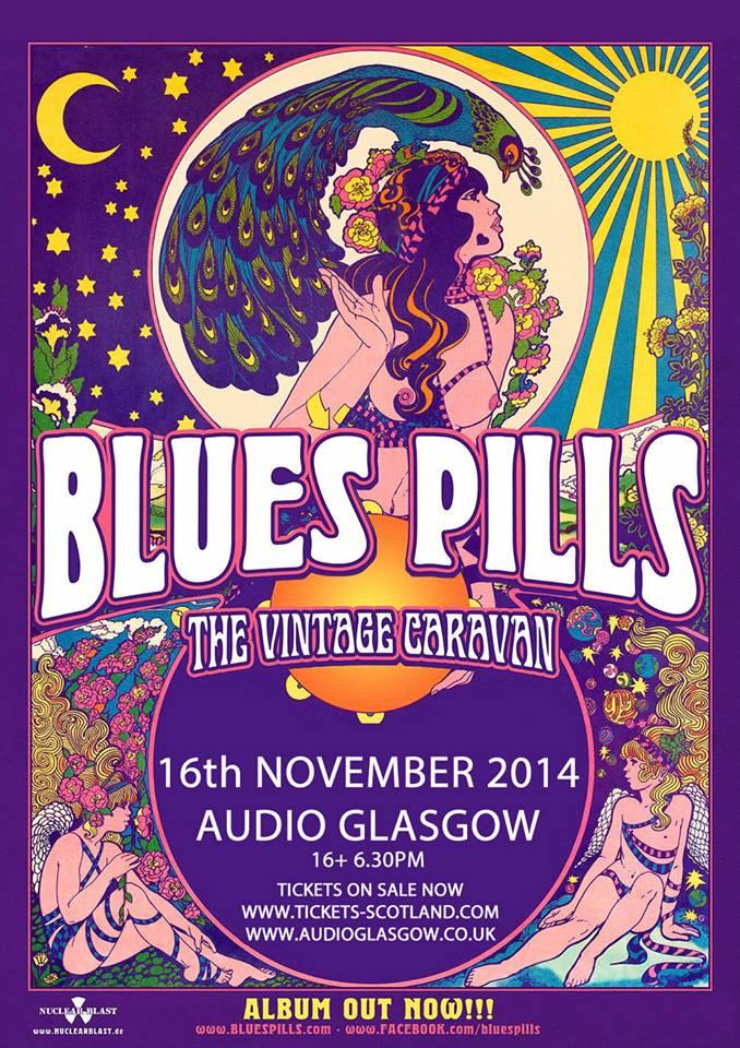 Live: Blues Pills, The Vintage Caravan, BlackWolf and Hair of the Dog