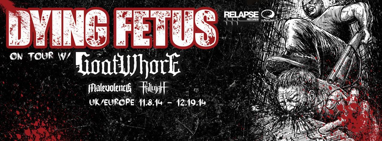 Live: Dying Fetus - The Garage, London. November 23rd, 2014.