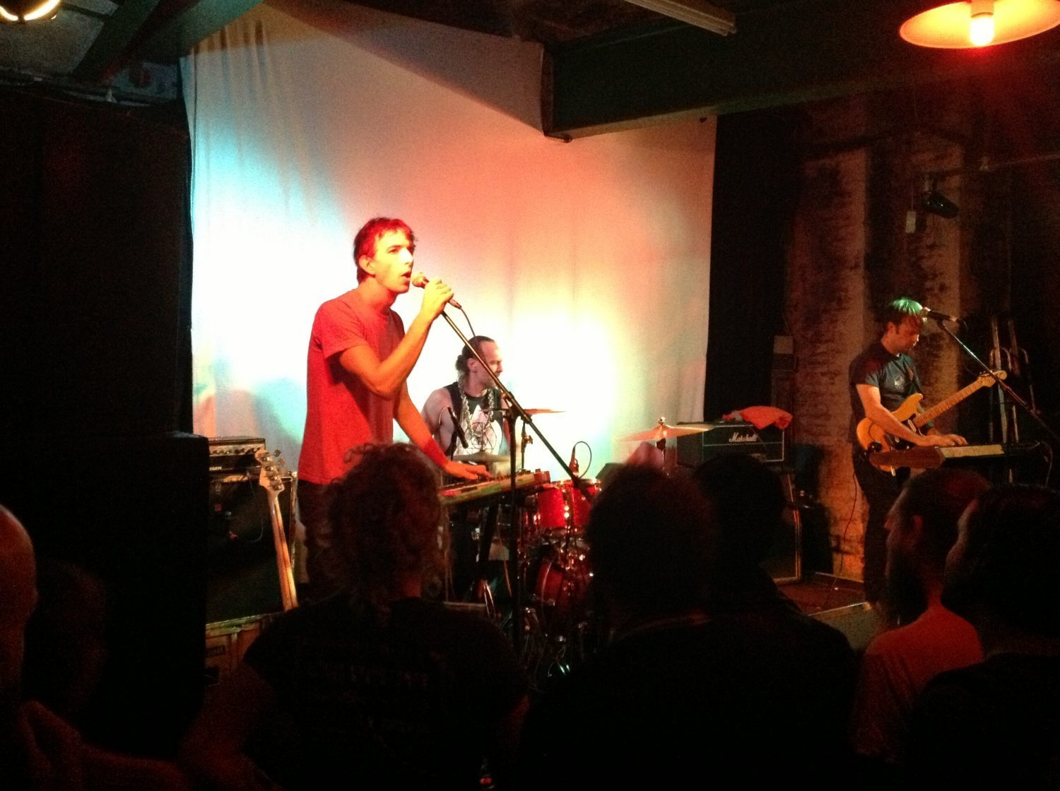 Live: Trans Am, Gum Takes Tooth and AK/DK - Green Door Store, Brighton. 11/11/2014
