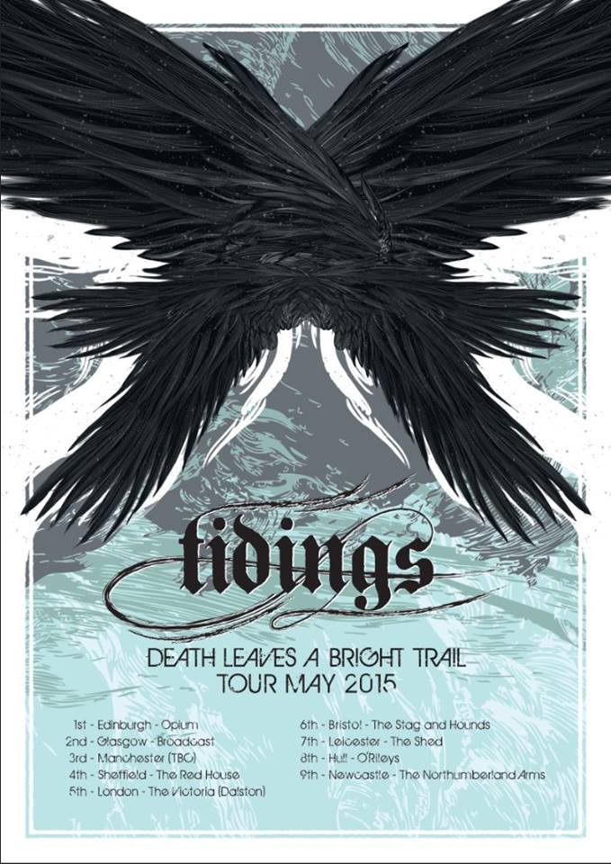 Tidings tour poster