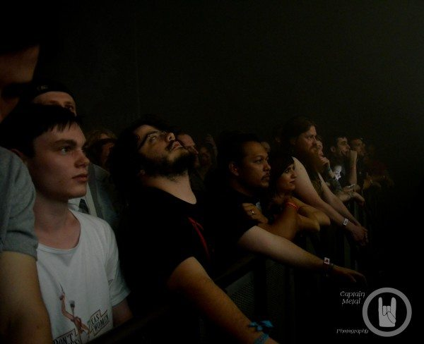 Droned out crowd during Sunn O)))