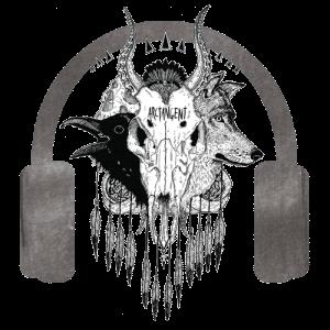 ATG Skull 500px x 500px plus headphones