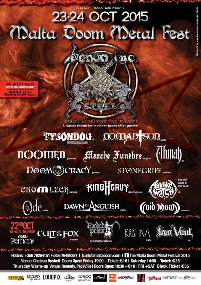 Malta Doom Festival2015