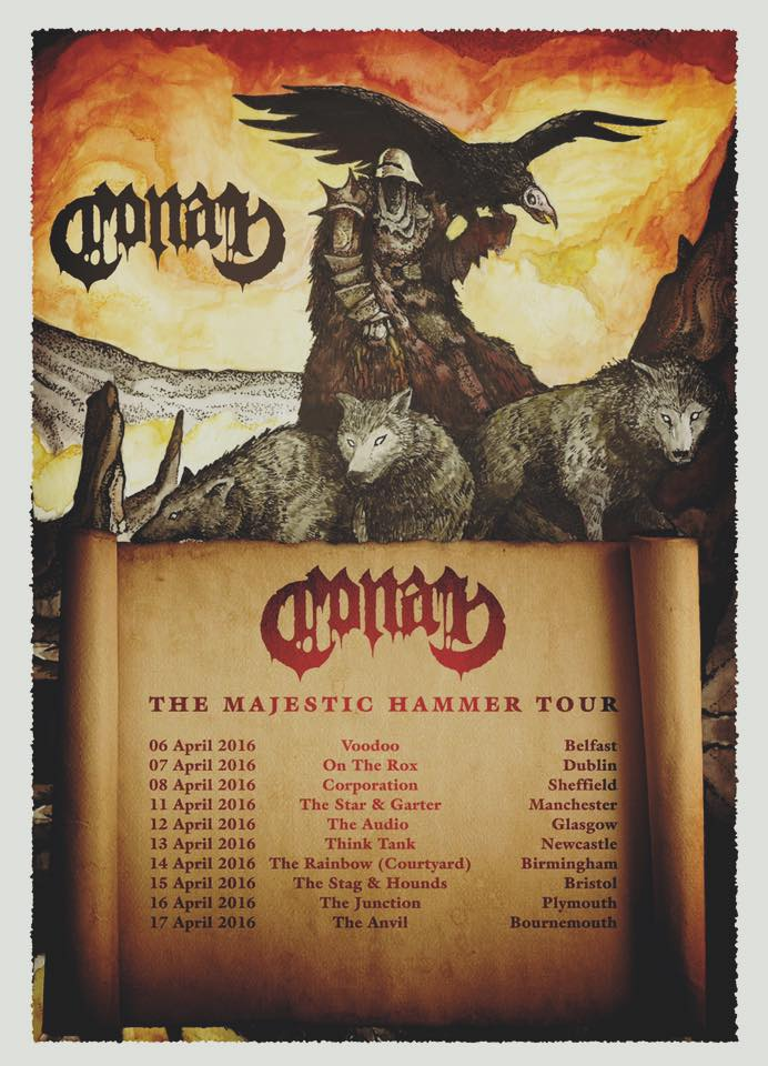 Conan UK tour 2016