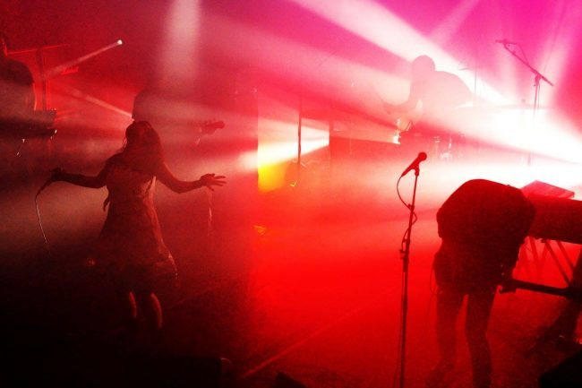 Culf of Luna and Julie Christmas live at Damnation Festival (picture by Bruce Cowie)