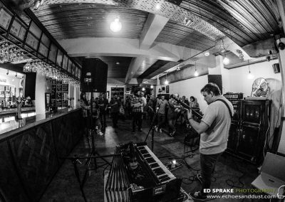 Peaks, live at 57 Thomas Street, Manchester. 24 April 2018
