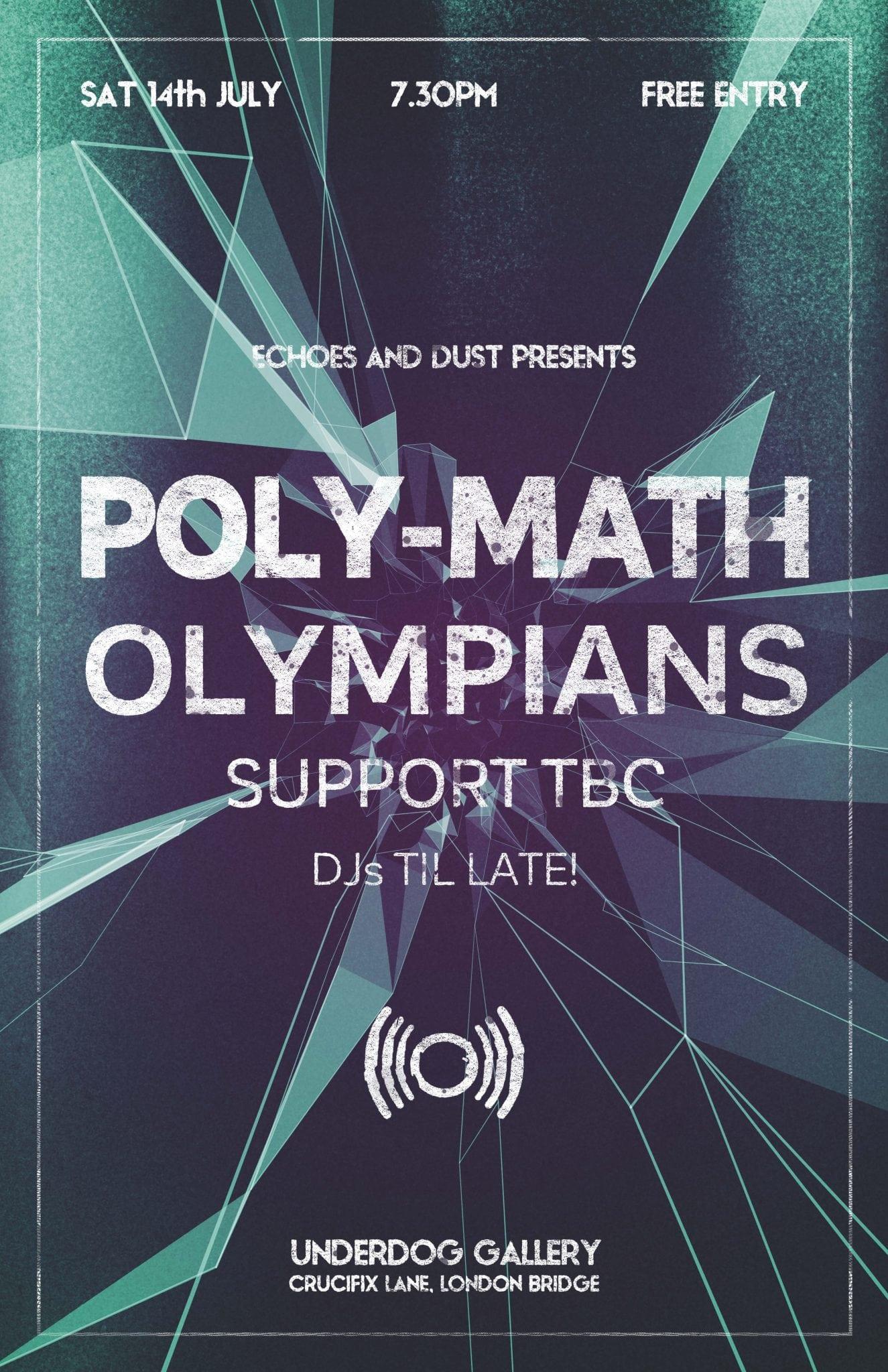 Poly-Math, Olympians, You Break You Buy