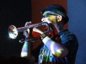 J-Matt Greenberg playing cornet