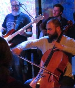 Artyom Manukyan playing cello