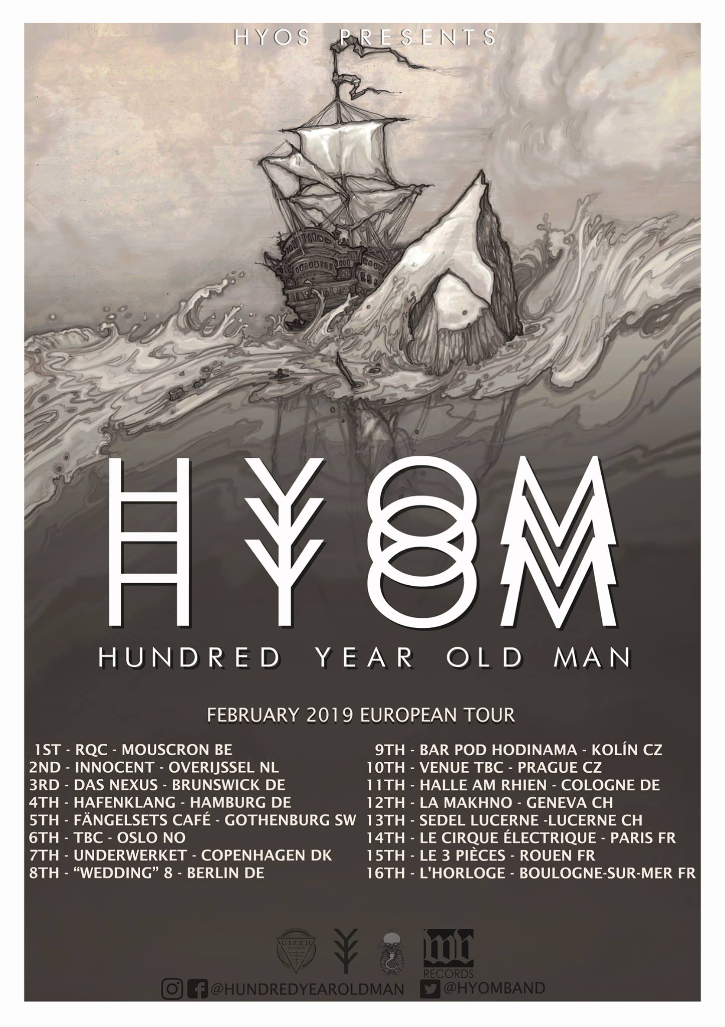 Hundred Year Old Man tour