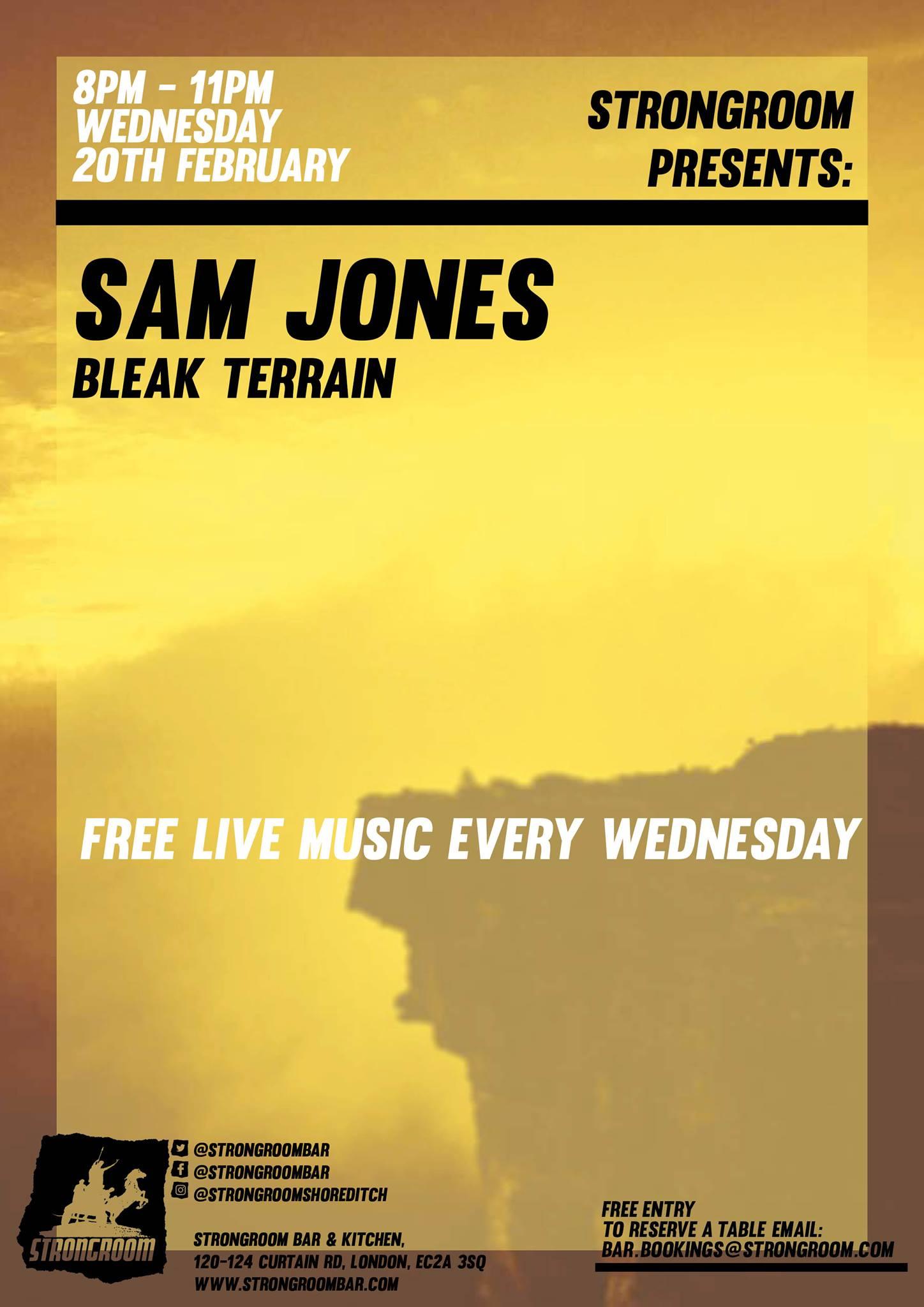Sam Jones, Bleak Terrain