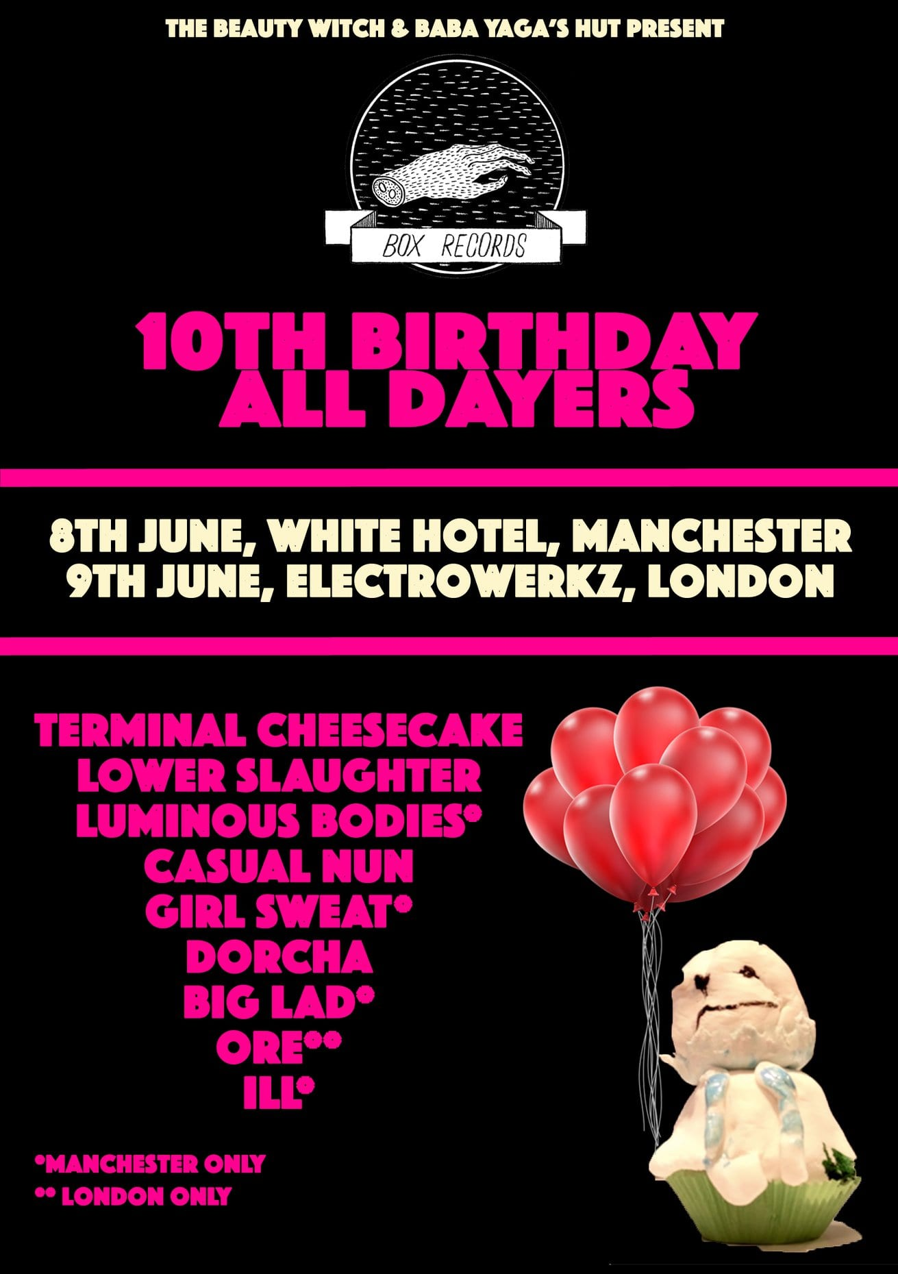 Box Records 10th Birthday All Dayer
