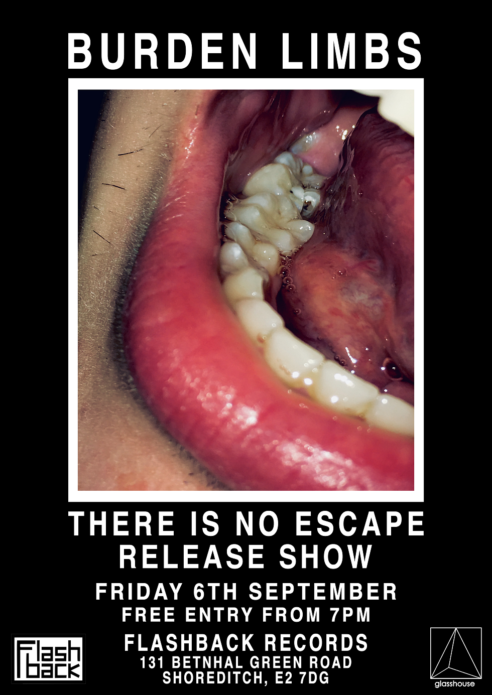 Burden Limbs - 'There Is No Escape' Release Show