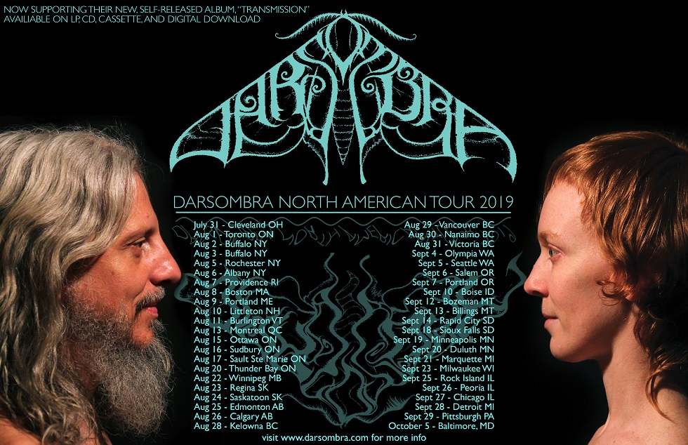 Darsombra - Transmission North American Tour 2019