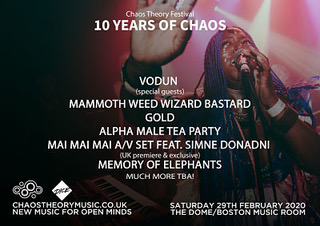 Chaos Theory Festival - 10 Years of Chaos